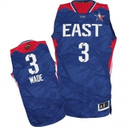 Adidas Dwyane Wade Miami Heat Authentic 2013 All Star Jersey - Blue