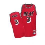 Adidas Dwyane Wade Miami Heat Authentic Hardwood Classics Nights Jersey - Red