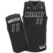 Adidas Chris Andersen Miami Heat Swingman Black Jersey - White