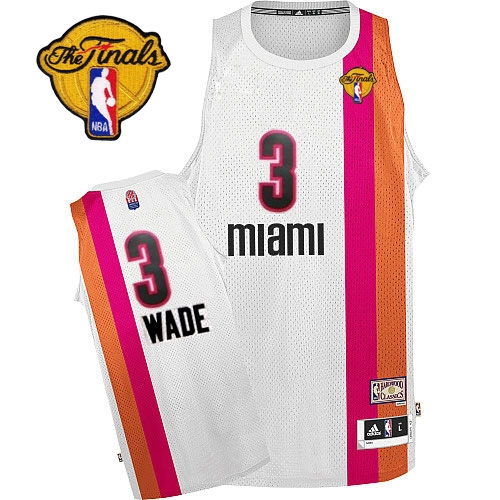 fb9d5e51f1fd ... shopping adidas dwyane wade miami heat authentic aba hardwood classic  with finals patch throwback jersey white
