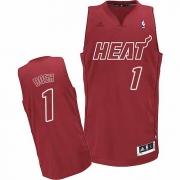 Adidas Chris Bosh Miami Heat Swingman Big Color Fashion Jersey - Red