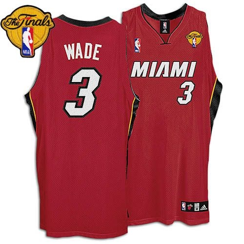 san francisco 806c4 ee966 Dwyane Wade Alternate Authentic With Finals Patch Jersey ...