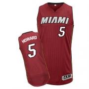 Adidas Juwan Howard Miami Heat Authentic Alternate Revolution 30 Jersey - Red