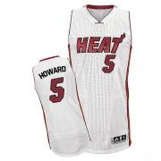 Adidas Juwan Howard Miami Heat Authentic Home Revolution 30 Jersey - White