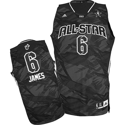 b3b8863ad51b LeBron James Swingman 2013 All Star Fashion Jersey - Black Adidas