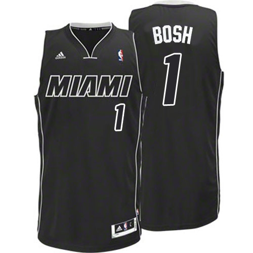 440f75ea2ed Adidas Chris Bosh Miami Heat Swingman Black Revolution 30 Jersey - White