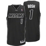 Adidas Chris Bosh Miami Heat Authentic Black Revolution 30 Jersey - White