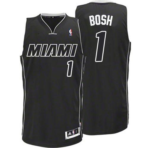 Adidas Chris Bosh Miami Heat Authentic Black Revolution 30 Jersey - White 32b53b63a