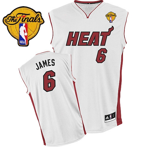 san francisco c25dc 3bc54 Adidas LeBron James Miami Heat Youth Home Authentic With ...