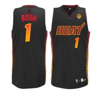 Adidas Chris Bosh Miami Heat Vibe Authentic Jersey - Black