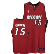 Adidas Mario Chalmers Miami Heat Authentic Alternate Jersey - Red