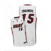 Adidas Mario Chalmers Miami Heat Swingman Home Revolution 30 Jersey - White