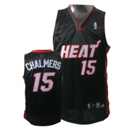 Adidas Mario Chalmers Miami Heat Authentic Road Jersey - Black
