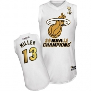 Mike Miller Miami Heat Majestic Authentic 2012 Finals Champions Jersey - White