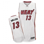 Adidas Mike Miller Miami Heat Authentic Home Revolution 30 Jersey - White