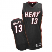 Adidas Mike Miller Miami Heat Authentic Road Revolution 30 Jersey - Black