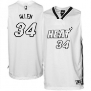 Adidas Ray Allen Miami Heat Authentic on Home Jersey - White