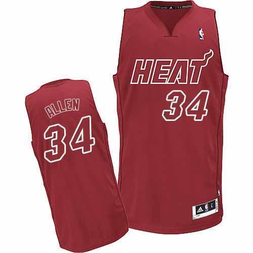 ray allen heat jersey