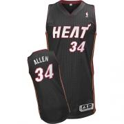 Adidas Ray Allen Miami Heat Authentic Revolution 30 Jersey - Black