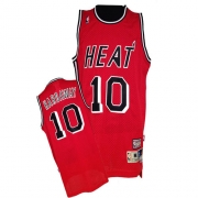 Adidas Tim Hardaway Miami Heat Authentic Throwback Jersey - Red