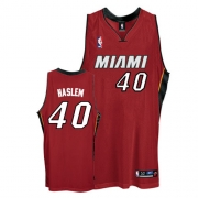 Adidas Udonis Haslem Miami Heat Authentic Alternate Jersey - Red