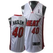 Adidas Udonis Haslem Miami Heat Authentic Home Jersey - White