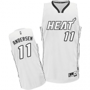 Adidas Chris Andersen Miami Heat Authentic on Jersey - White