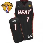 Adidas Chris Bosh Miami Heat Swingman With Finals Patch Revolution 30 Jersey - Black