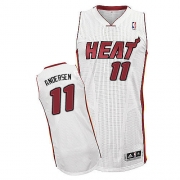 Adidas Chris Andersen Miami Heat Authentic Jersey - White