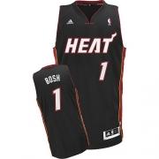 Adidas Chris Bosh Miami Heat Swingman Revolution 30 Jersey - Black