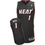 Adidas Chris Bosh Miami Heat Authentic Revolution 30 Jersey - Black