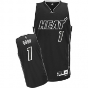 Adidas Chris Bosh Miami Heat Authentic Jersey - Black Shadow