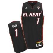 Adidas Chris Bosh Miami Heat Swingman Latin Nights Jersey - Black