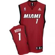 Adidas Chris Bosh Miami Heat Alternate Swingman Jersey - Red