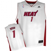 Adidas Chris Bosh Miami Heat Home Authentic Jersey - White