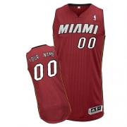 Adidas Customized Miami Heat Authentic Revolution 30 Alternate Jersey - Red